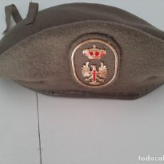 Militaria: BOINA DEL EJERCITO DE TIERRA ESPAÑOL 1990. Lote 221525883