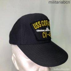 Militaria: ESTADOS UNIDOS. GORRA TIPO BEISBOL DEL PORTAVIONES USS CORAL SEA CV 43. FABRICADA EN ESTADOS UNIDOS. Lote 221668667