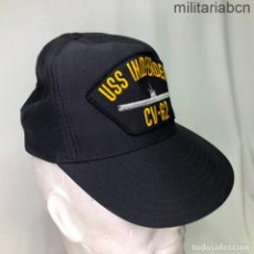 Militaria: ESTADOS UNIDOS. GORRA TIPO BEISBOL DEL PORTAVIONES USS INDEPENDENCE CV 62. FABRICADA EN USA. Lote 221668740