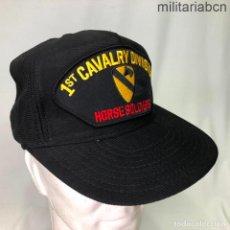 Militaria: ESTADOS UNIDOS. GORRA TIPO BEISBOL LA 1ST CAVALRY DIVISION. FABRICADA EN ESTADOS UNIDOS.. Lote 221669273