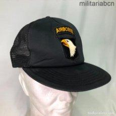 Militaria: ESTADOS UNIDOS. GORRA TIPO BEISBOL DE LA 101 AIRBORNE DIVISION. AÑOS 90.. Lote 221669472