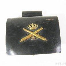 Militaria: CARTUCHERA ARTILLERÍA DE TROPA DE LA ÉPOCA DE ALFONSO XIII. Lote 221889973