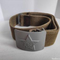 Militaria: CINTURON ORIGINAL EJERCITO UNION SOVIETICA. URSS. CCCP. AÑOS 50. Lote 221899123