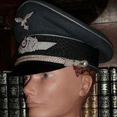 Militaria: LUFTWAFFE GORRA EREL SONDERKLASSE 1943 SIN USO PROVIENE DE LA FAMILIA DEL PILOTO.. Lote 222159327