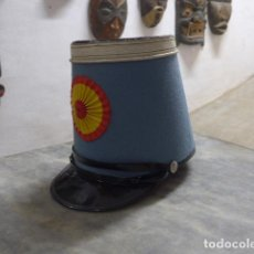 Militaria: GORRA SHAKO DE CABALLERIA PARA RECREACION HISTORICA O MANIQUI ? CHACO.. Lote 222839105
