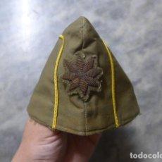Militaria: ANTIGUO GORRILLO DE COMANDANTE ESPAÑOL A IDENTIFICAR. Lote 222840422