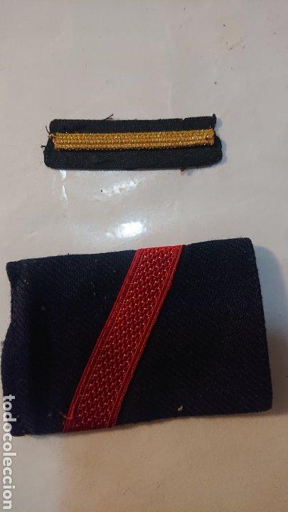 GALONES RANGO HOMBRERA EJERCITO DE LA MARINA ESPAÑOLA (Militar - Otros relacionados con uniformes )