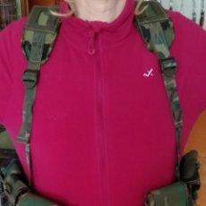 Militaria: PECO PORTAEQUIPO DE COMBATE EJÉRCITO ESPAÑOL. Lote 297092083
