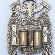 Militaria: PORTAPALILLOS ANTIGUO DE BRONCE EN RELIEVE - EJERCITO ESPAÑOL - POST. GUERRA CIVIL.. Lote 226393190