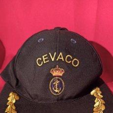 Militaria: GORRA CEVACO ARMADA ESPAÑOLA. Lote 226803470