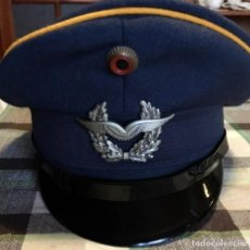 Militaria: AIR FORCE OFFICER HAT / VILLAGE PEOPLE PARTY DANCE. Lote 227035675