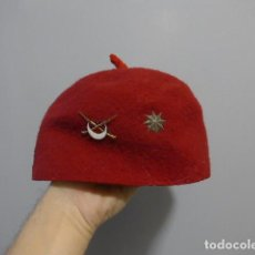 Militaria: ANTIGUO GORRO TARBUCH DE REGULARES, MODELO TIPO GUERRA CIVIL, IDEAL RECREACION.. Lote 227271325