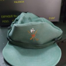 Militaria: GORRA SARGA LEGIÓN 3 ORIGINAL AÑOS 80 PATRULLA DE TIRO T-56/57 BUEN USO. Lote 227575340