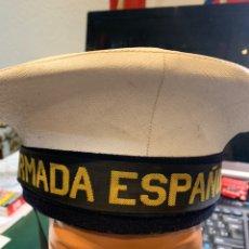 Militaria: GORRA MARINERÍA DE LA ARMADA ESPAÑOLA. Lote 227796180