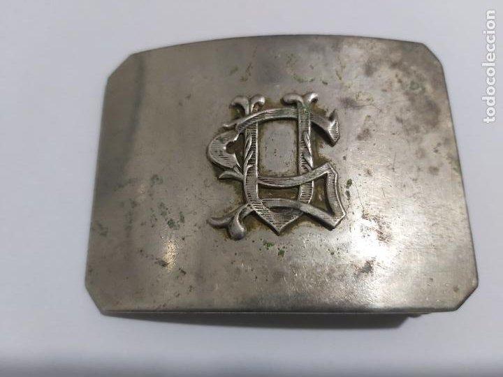 HEBILLA GUARDIA URBANA REPÚBLICA ESPAÑOLA (Militar - Cinturones y Hebillas )