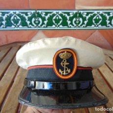 Militaria: GORRA DE PLATO DE LA ARMADA ESPAÑOLA. Lote 228094290