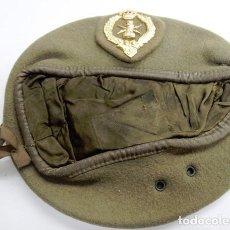 Militaria: 1º MODELO DE BOINA DE MANDO DE TRANSMISIONES DEL EJÉRCITO DE TIERRA. Lote 229525125