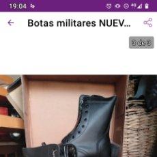 Militaria: ÚLTIMO PAR!!! BOTAS NUEVAS NÚMERO 48 PAMOL. Lote 229583825