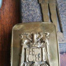 Militaria: HEBILLA DE LA GUARDIA DE FRANCO. Lote 230007640