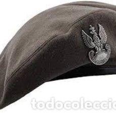Militaria: BOINA E INSIGNIA PARACAIDISTA POLACO 2ª GUERRA MUNDIAL REPRODUCCIÓN. Lote 230090800