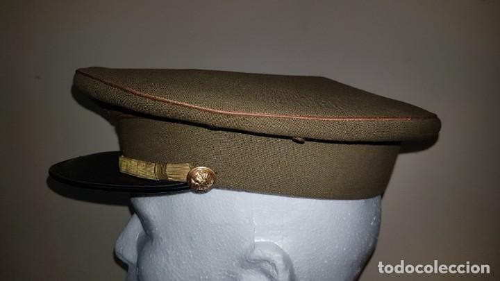 Militaria: Gorra de plato del cuartel general del ejercito de tierra sargento primero - Foto 2 - 230888195