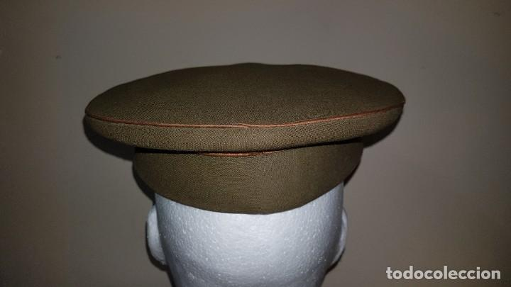 Militaria: Gorra de plato del cuartel general del ejercito de tierra sargento primero - Foto 3 - 230888195