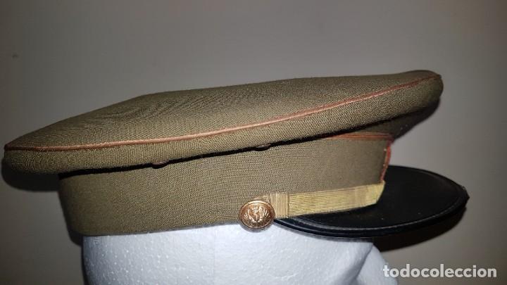 Militaria: Gorra de plato del cuartel general del ejercito de tierra sargento primero - Foto 4 - 230888195