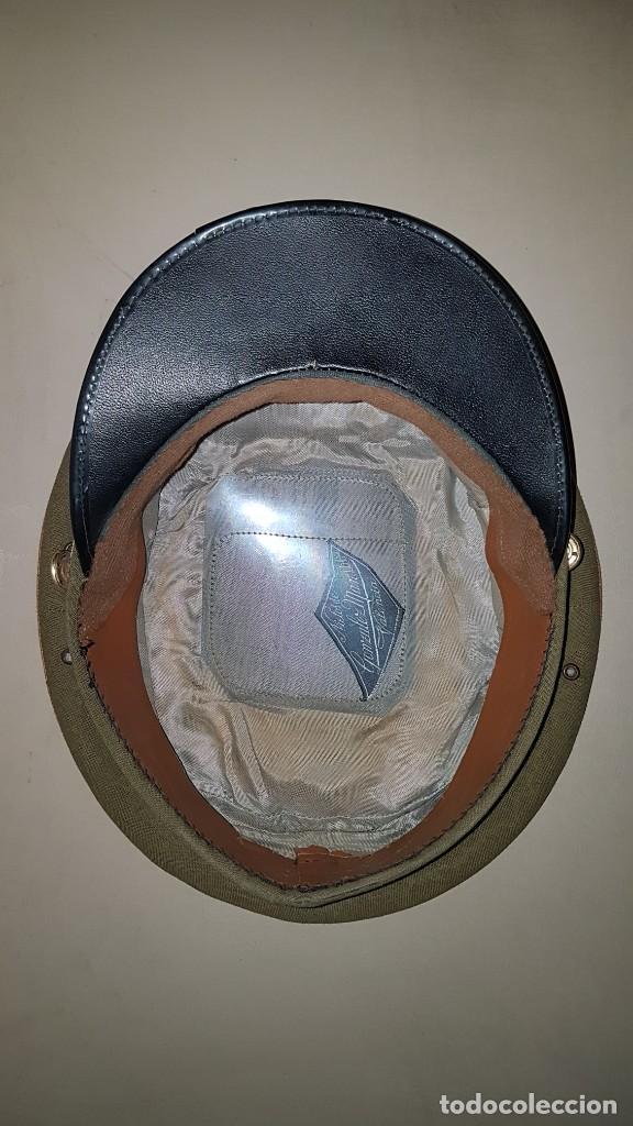 Militaria: Gorra de plato del cuartel general del ejercito de tierra sargento primero - Foto 6 - 230888195