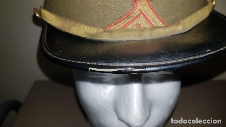Militaria: Gorra de plato del cuartel general del ejercito de tierra sargento primero - Foto 7 - 230888195