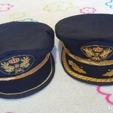 Militaria: LOTE DE GORRAS DE PLATO DE IBERIA. Lote 231702730