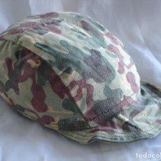 Militaria: RARISIMO GORRILLO COES FABRICACION CUARTELERA.. Lote 231836420