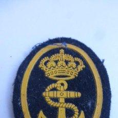 Militaria: GALLETA DE BOINA DE MARINERO..ARMADA ESPAÑOLA..AÑOS 80. Lote 232358395
