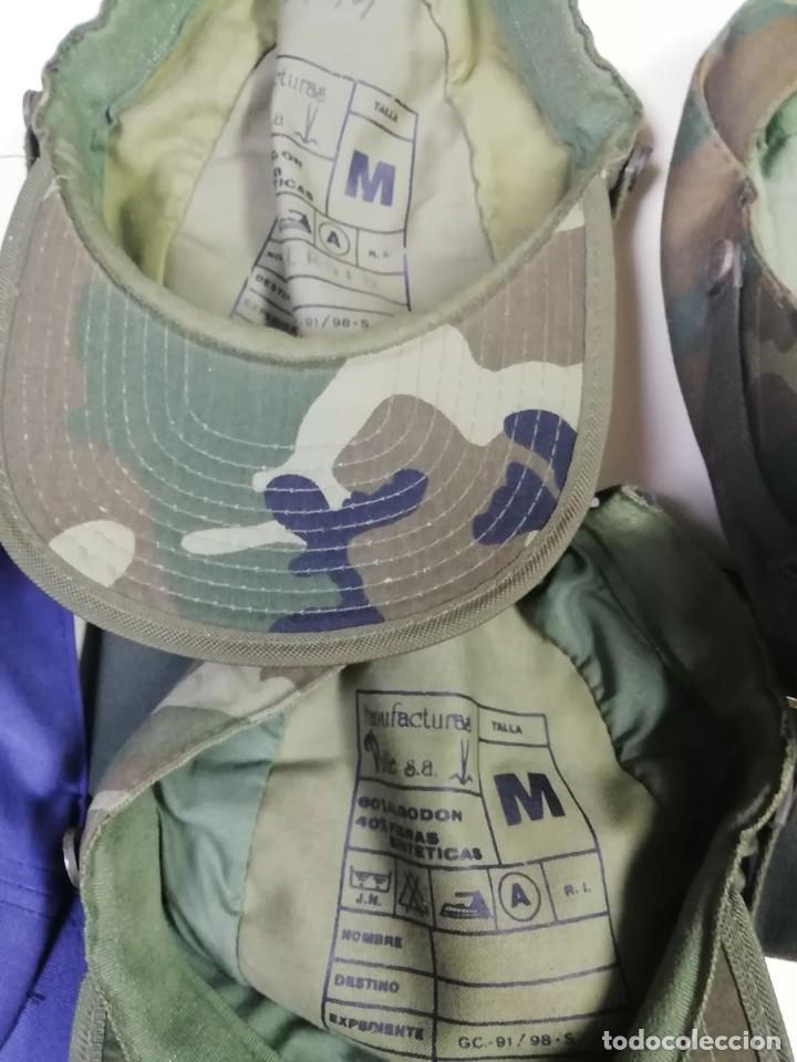 Militaria: GORRAS MILITARES. 7 UNIDADES - Foto 3 - 234746740