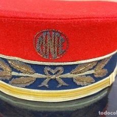 Militaria: IMPECABLE GORRA RENFE JEFE DE ESTACION. Lote 234934385