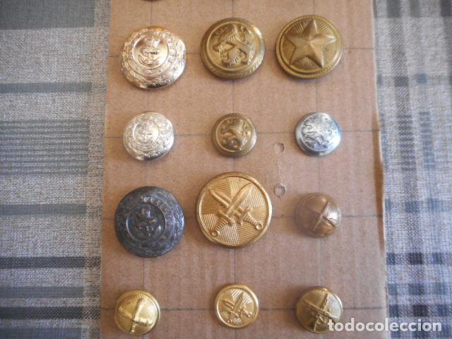 Militaria: lote de botones varios - Foto 3 - 235252735