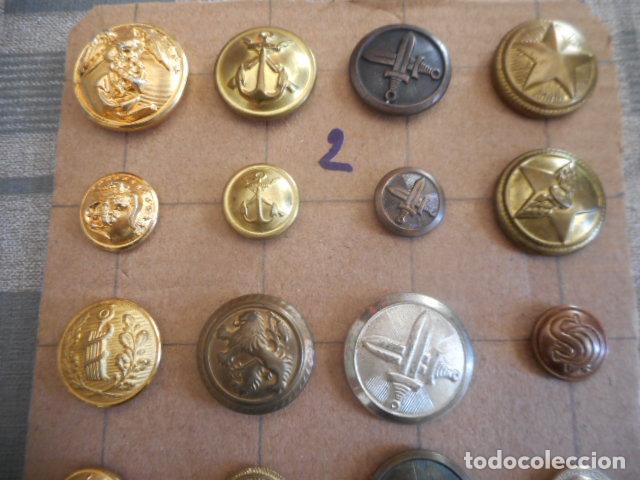 Militaria: botones varios - Foto 2 - 235253185