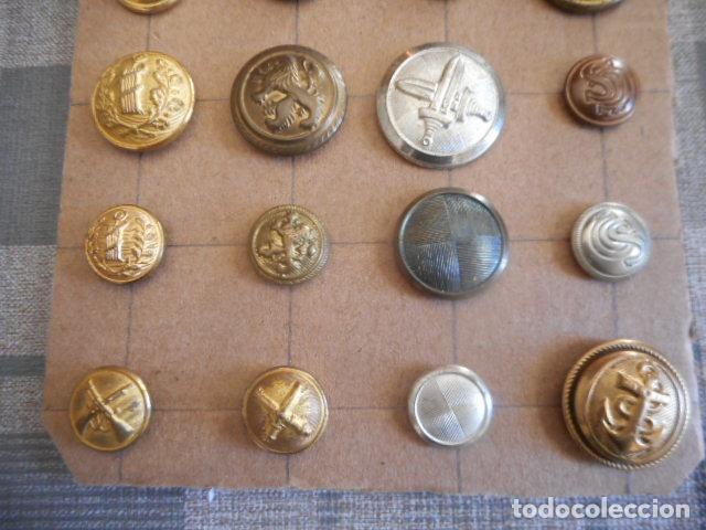 Militaria: botones varios - Foto 3 - 235253185