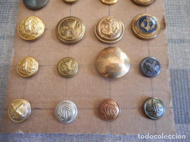 Militaria: lote botones varios - Foto 2 - 235253785