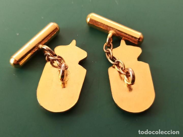 Militaria: Pareja de gemelos División Acorazada. - Foto 2 - 235417130