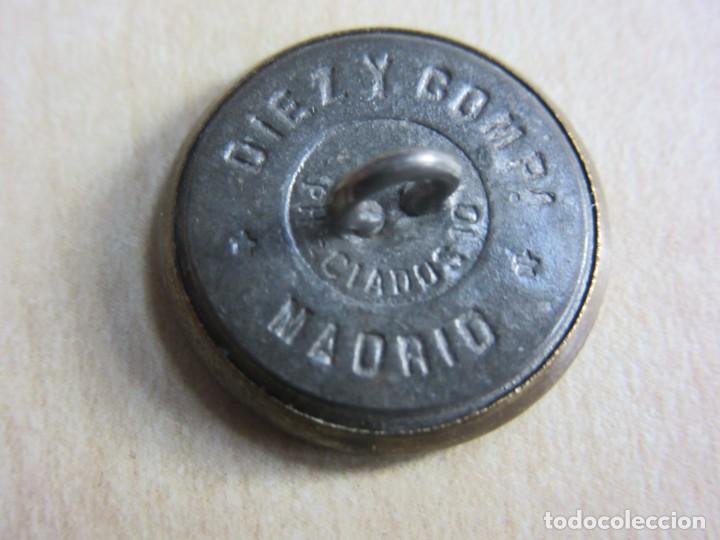 Militaria: Bonito y raro botón de Ingenieros, para celadores de material de Ingenieros 1905 Ver descrip. - Foto 2 - 235545130