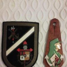 Militaria: LEGIÓN. ESCARAPELA Y PEPITO SAHARIANO VIII BANDERA. Lote 235613680
