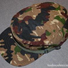 Militaria: GORRA DE CAMPAÑA MIMETIZADA ROCOSA COE/LEGION/BRIPAR AÑOS 80. Lote 236616955