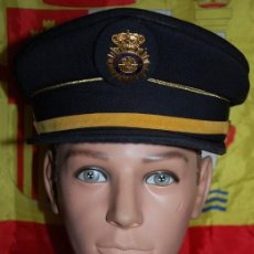 Militaria: GORRA CUERPO NACIONAL DE POLICIA CNP SUBINSPECTOR TALLA 59. Lote 236835470