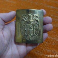 Militaria: ANTIGUA HEBILLA DE LA POLICIA O GUARDIA DE FRANCO, ORIGINAL.. Lote 236841905