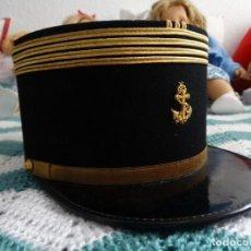 Militaria: KEPI FRANCES DE COMANDANTE DE INFANTERIA DE MARINA. Lote 237568685