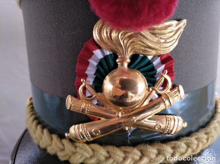 Militaria: QUEPI ITALIANO DE GALA, DE LA ACADEMIA DE ARTILLERÍA. - Foto 2 - 238234635
