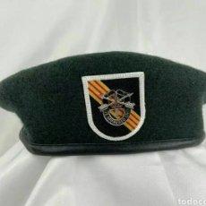 Militaria: BOINA VERDE OPERACIONES ESPECIALES GUERRA VIETNAM. Lote 261596875