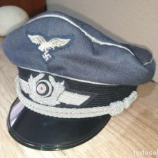 Militaria: GORRA LUFTWAFFE REPRODUCCION PERFECTA. Lote 240175875