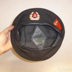 Militaria: ANTIGUA BOINA RUSA DE MARINA DE LA URSS COMUNISTA, 1975. ORIGINAL.. Lote 240362805