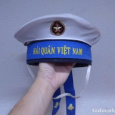 Militaria: ANTIGUA GORRA LEPANTO DE MARINA VIETNAM, ORIGINAL. Lote 240362995